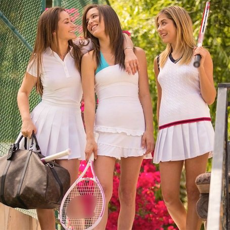tennis lesbians